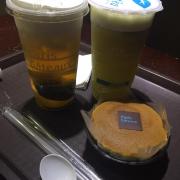 trà xanh kem tươi, trà xanh xoài Nhật Bản, bánh cheesecake