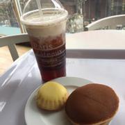 Hồng trà kem tươi - cake pie - dorayaki