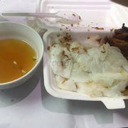 Bánh cuốn bà Hoành - mình gọi ship về, nước chấm ngon, bánh mềm nhưng thịt thì ko có ngon lắm.