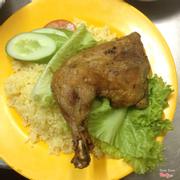 Dĩa cơm gà