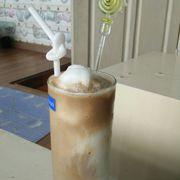 Cà phê nâu cốt dừa
