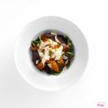 Roasted pumpkin & beetroot salad