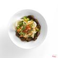 Vietnamese caramelised pork salad