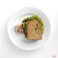 Tuna mayonnaise on whole wheat