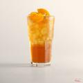 Peach iced tea with lemongrass
