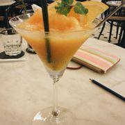 ginger orange mint granita