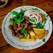 Bò lúc lắc + Khoai tây chiên
