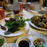 Chuột đồng nướng (trái)