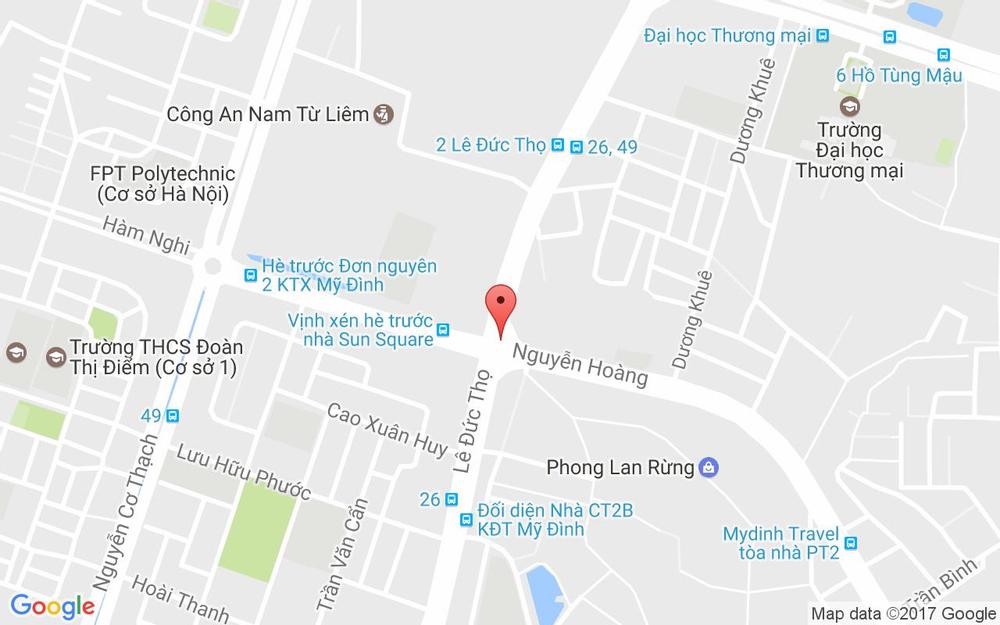 Vị trí bản đồ 26 A1 Lê Đức Thọ Quận Nam Từ Liêm Hà Nội