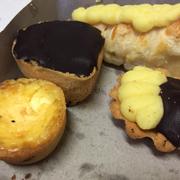 Bánh tart fomai, scl, hạnh nhân