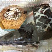 Cup cake bơ, bánh gato cắt