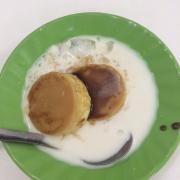 flan sốt cốt dừa