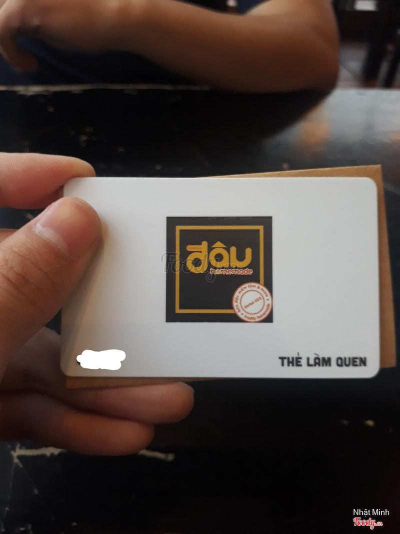 Thẻ member hạng Làm Quen