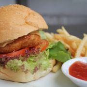 Burger (cá, tôm, cua)