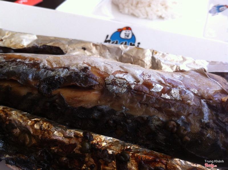Cá SaBa nướng giấy bạc