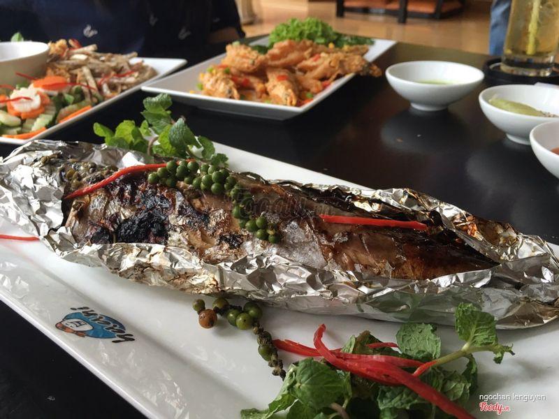 cá sapa nauy nướng giấy bạc