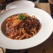 Mỳ Ý bò băm