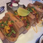 Tacos bò và đậu