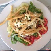 Salad gà ❤️ đầy đặn gà thơm, khoai rất hào phóng, ăn món này hoài mà không hề bị ngấy (y)