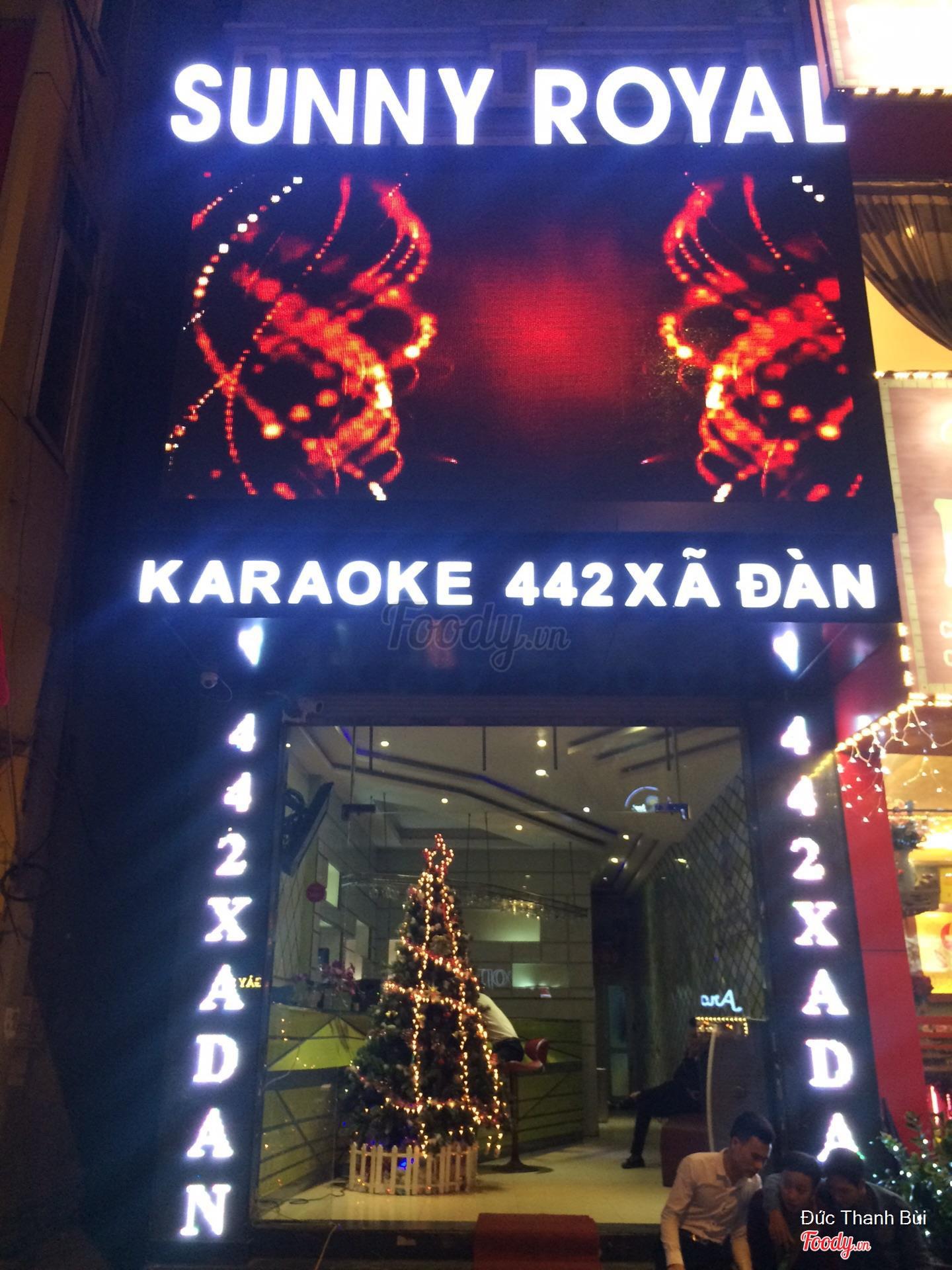 quán Sunny royal karaoke xã đàn