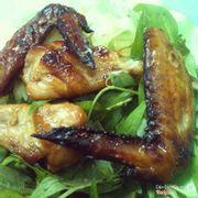 2 cánh gà nướng