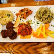 Israeli Platter (đồ chay)