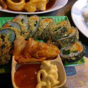 kimbap tempura