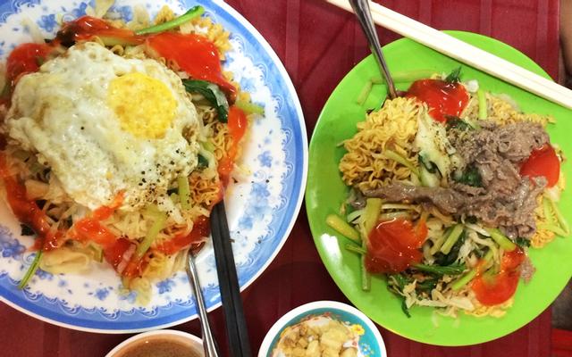 Mì Gói Xào Bò - Ga Sài Gòn
