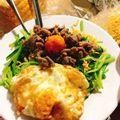 Mì xào bò trứng