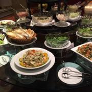 Quầy gỏi và salad