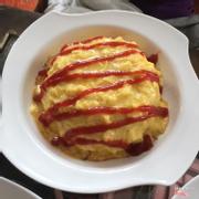 Cơm chiên bọc trứng 45k