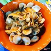 ngao xào me dừa