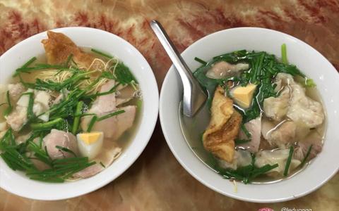 Mỳ vằn thắn ngon Hà Nội