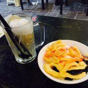 Chè sen dừa, sữa chua mít