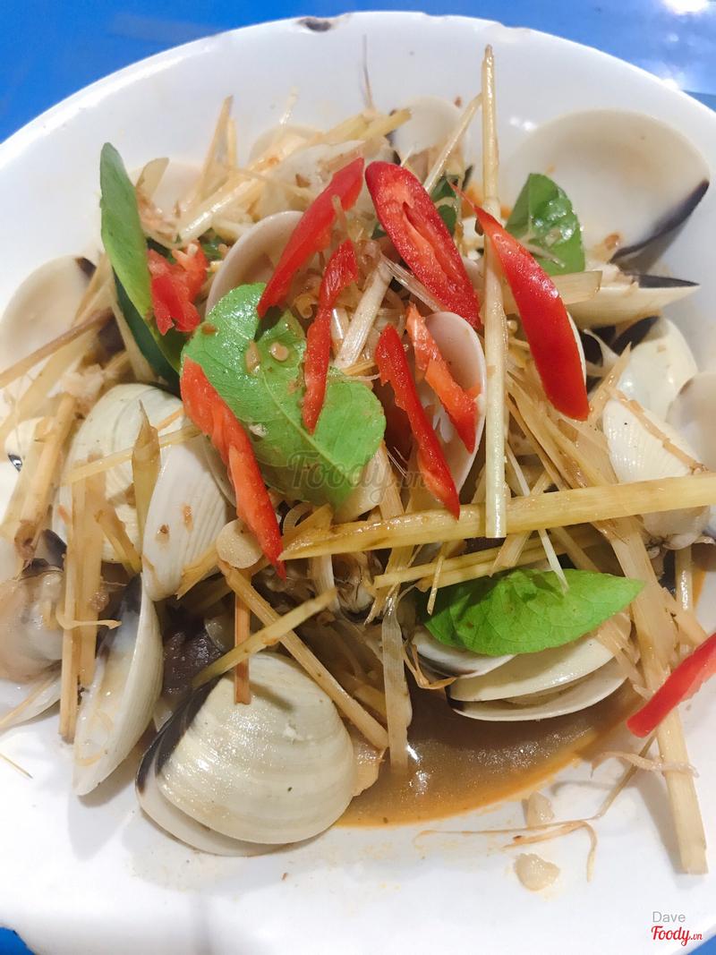 Ngao hấp Thái