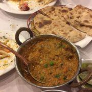 Curry dê truyền thống. Rotti.