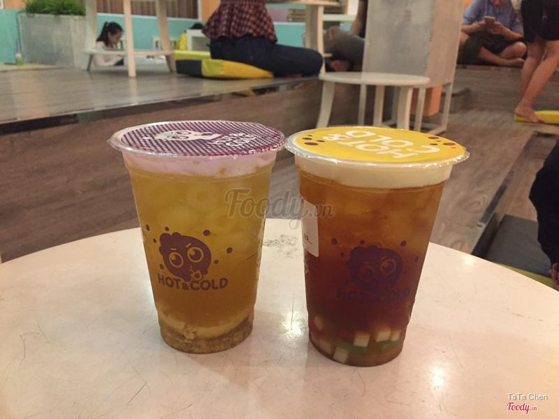 Lục Trà Flan truyền thống & Hồng trà thạch cầu vồng