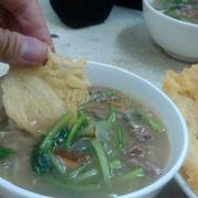 Châm phở vào súp ăn thật tuyệt