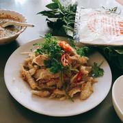 Gỏi cá mai quán Vườn Xoài, Vũng Tàu