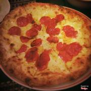 Pizza w. Sashimi