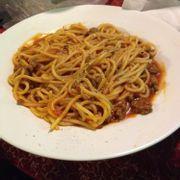 Spaghetti bò bằm