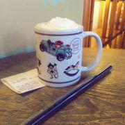 Cái ly xinh xinh và đồ uống rất ngon