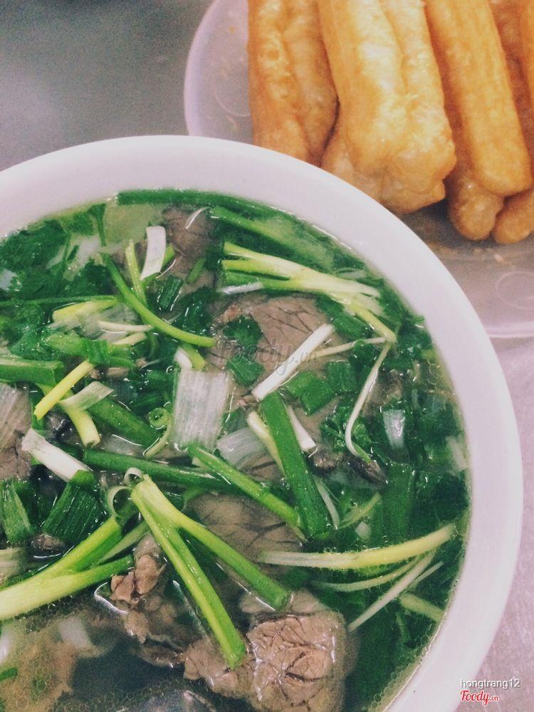 Phở Dũng - Chuyên bò, tái chín, sốt vang ở Hà Nội