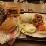 Big Star + gà lắc + Cơm gà