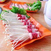 Bò cuộn nấm kim