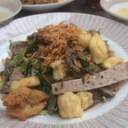 Bánh đa trộn lươn