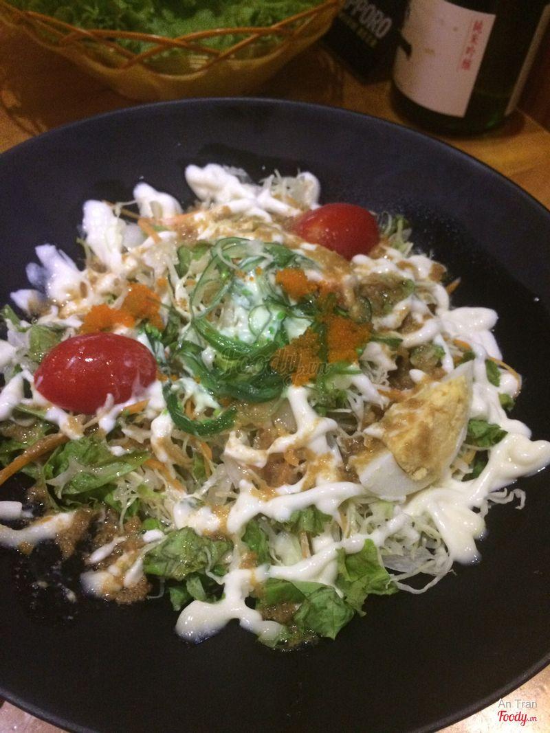 Salat trứng cua r ngon