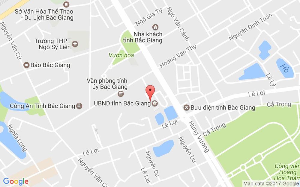 Vị trí bản đồ Hùng Vương, Quảng Trường 3/2 Tp. Bắc Giang Bắc Giang