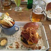 Abattoir burger