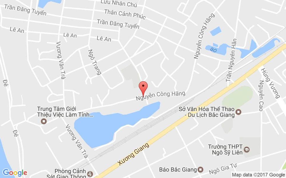 Vị trí bản đồ 376A Nguyễn Công Hãng, P. Trần Phú Tp. Bắc Giang Bắc Giang